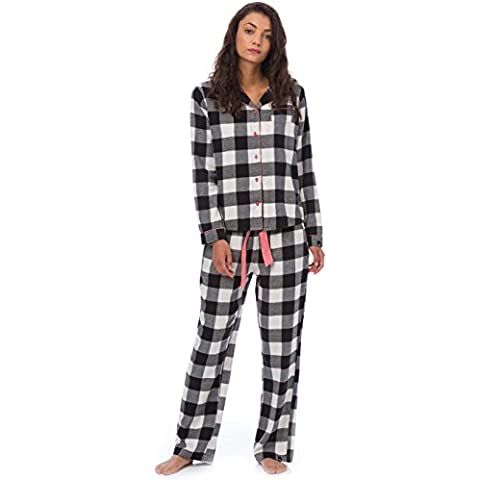 Animal Women's Frost Berry Pyjamas - Valilla Cream-UK