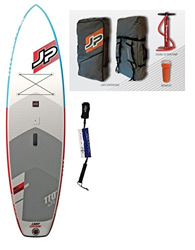 JP-Australia Allround-Air 11\'0 LE Wind SUP 2018 Standup Paddel Board aufblasbar inkl. SUPwave.de Coil-Leash, Stand up Paddle