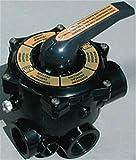 Productos QP Válvula 6 Vias Sin Enlaces 11/2', Negro, 47x28x28 cm, 500480N