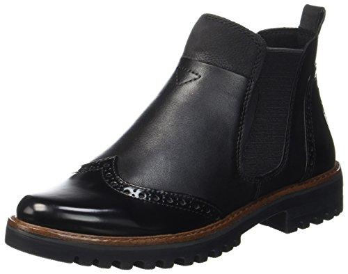 Marco Tozzi Premio Damen 25453 Chelsea Boots, Schwarz (Black Ant.Comb), 38 EU