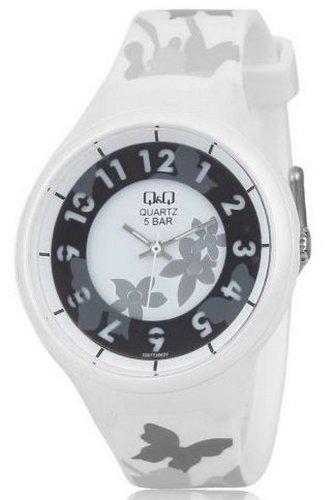 Q&Q Analog White Dial Women's Watch - GW77J002Y image