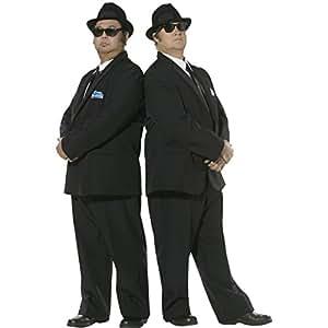 Costume de Blues Brothers déguisement de star noir Taille L 52/54 tenue Blues Brother costume de film Blues Brother costume de star