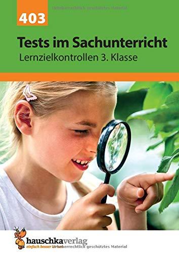 Tests im Sachunterricht - Lernzielkontrollen 3. Klasse (Lernzielkontrollen, Tests und Proben, Band 403)