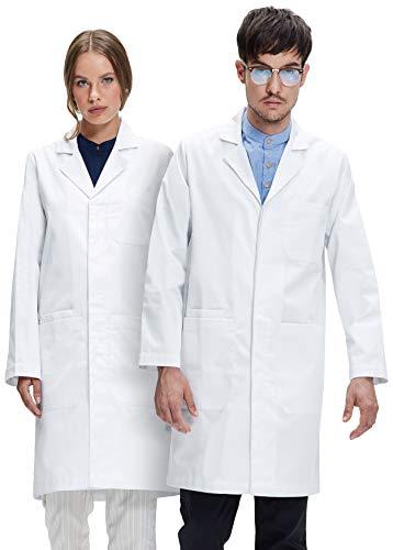 Dr. James Laborkittel in Weiß für Damen und Herren 245 gr./m² Labtex Gewebe DE-01-S