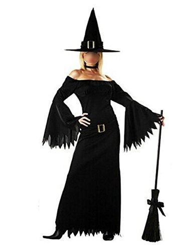 THEE Hexenkostüm Vampir Zombie Hexe Kostüm Halloween Cosplay -