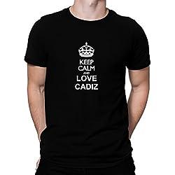 Camiseta Keep calm and love Cadiz
