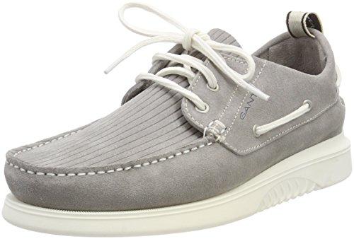GANT Footwear Herren Dennis Bootsschuhe, Grau (Sleet Gray), 46 - Dennis Sommer
