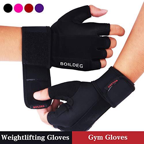 Fitness Handschuhe,für Bodybuilding Crossfit,Damen&Herren(M)