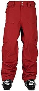 Sweet protection dissident pantalon vêtements de ski pour homme S Rouge - Brun