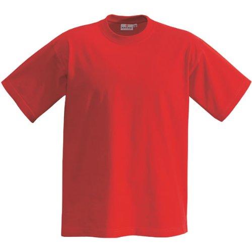 T-Shirt Heavy, Rot, L -