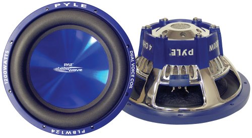 Pyle plbw12430,5cm 1200W DVC Subwoofer
