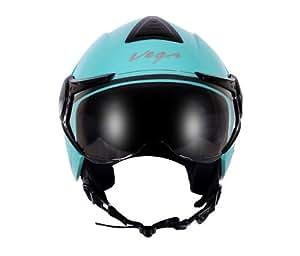 Vega Verve Open Face Helmet (Women's, Mint, S)
