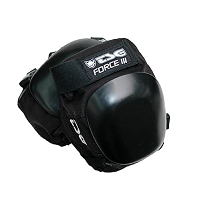 TSG Knieschoner Force III, Black, XL, 71020
