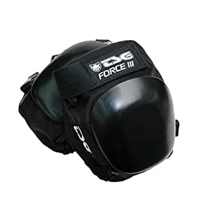 TSG Knieschoner Force III, Black, M, 71020