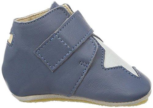 Easy PeasyKINY ETOILE - Scarpine e pantofole primi passi  Unisex – Bimbi 0-24 Bleu (526 Denim/Inwi)