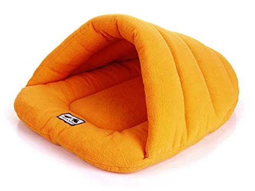 Coismo Round Pet Nest Bed Durable Pet Cave House for Puppy Dog