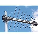 3H-UHF-20L-LOG - kleine UHF / DVB-T / DVB-T2 Außenantenne, 20 Elemente , 7 dB(i) mit LTE-Filter