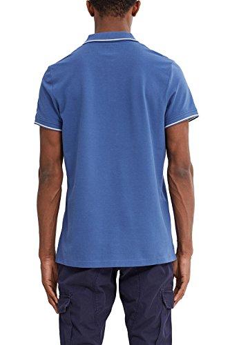 edc by ESPRIT Herren Poloshirt Blau (Navy 3 402)