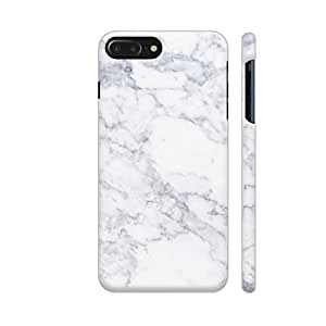 Colorpur iPhone 7 Plus Cover - White Marble Printed Back Case