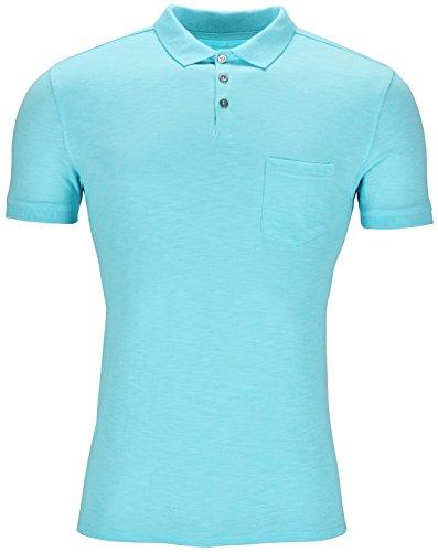 new-mens-polo-shirt-short-sleeve-plain-slub-top-designer-style-fit-t-shirt-tee-summer-ex-high-street