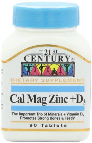 21st-century-health-care-cal-mag-zinc-d3-90-tabletas