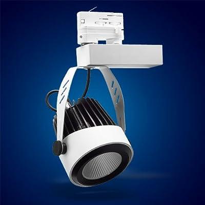 Mextronic 34W Warmweiss led 3 phasen strahler für Schienensystem Schienen Strahler Schienen Leuchte von Mextronic - Lampenhans.de