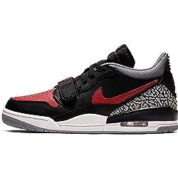Nike Air Jordan Legacy 312 Low - black/varsity red-black-cement grey, Größe:9