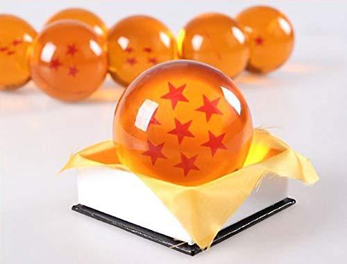 1:1 DBZ DragonBall Z Crystal Ball Durchmesser ca.7cm Dazzling 7-Star-Kristallkugel (Dragon Ball Z Bälle)