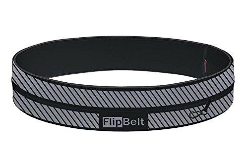 Flipbelt FB0130 Riñonera Reflectante, Unisex Adulto, Negro, M