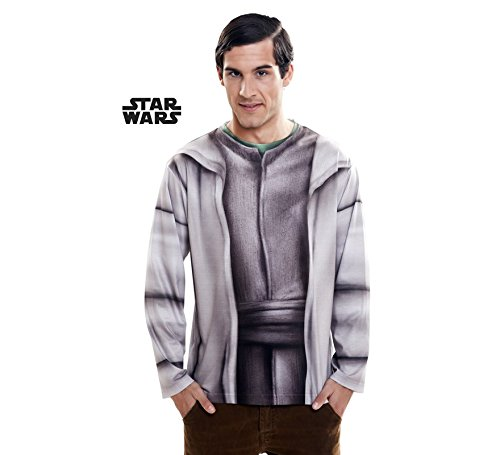 ng costumes231018Yoda Herren Lange Ärmel Shirt (groß) (Dress Up Yoda)