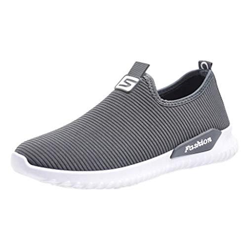 Stretch-reitstiefel (ODRD Sandalen Shoes Lässige Frauen-Damen-beiläufige Müßiggänger-Turnschuhe Flats Breathable Stretch Cloth Shoes Schuhe Strandschuhe Freizeitschuhe Turnschuhe Hausschuhe)