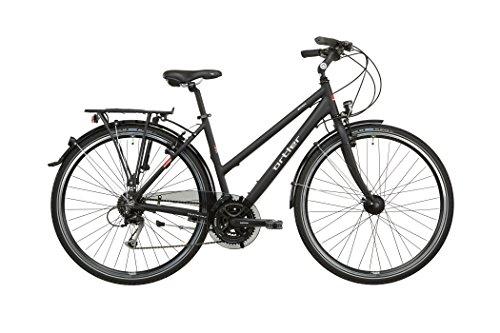 Ortler Mainau Damen schwarz matt 2016 Trekkingrad