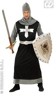 Widman - Disfraz de caballero medieval para hombre, talla S (57321)