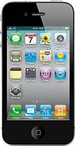 Apple iPhone 4 Smartphone (8,9 cm (3,5 Zoll) Display, 5 Megapixel Kamera, 8GB interne Speicher, WiFi) schwarz