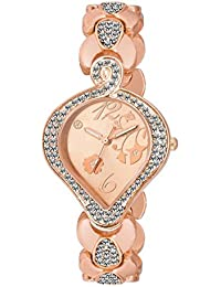 Krupa Enterprise Rose Gold Analogue Dial rose Gold Wrist Watch For Women And Girls
