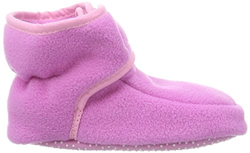 Playshoes Baby Fleeceschuhe 103480 Unisex-Baby Krabbelschuhe Pink (pink 18)