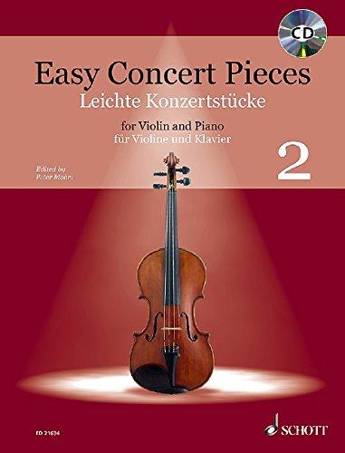 Tango Violin (Easy Concert Pieces: Band 2. Violine und Klavier. Ausgabe mit CD.)