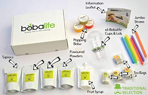 Bubble Tea Kit - 12 Drinks (Traditional Box)