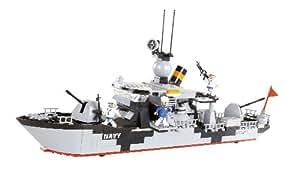 Cobi - 330343 - Petit Armée, La Force Navale, Bateau De Bataille, Des Briques De Construction