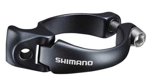 Shimano Dura Ace SM-AD91 Umwerfer-Adapter Schelle 31,8mm 2017 Schaltung (31.8 Umwerfer)