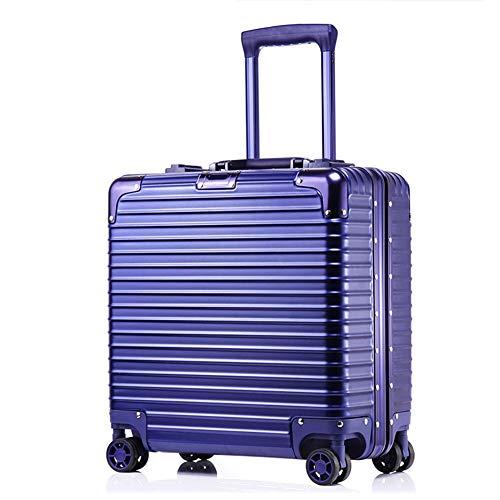 XDD Business 18 Zoll Computer Trolley Boarding Chassis Rollgepäck Passwort Koffer Hardshell 8-Rad Spinner Aufrechtes Gepäck für Frauen und Männer,C,43 * 42 * 20cm -