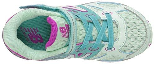 New Balance KA680 Infant Running Shoe (Infant/Toddler), Green/Purple, 10 M US Toddler Green/Purple