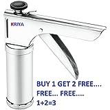 Kriya enterprises Kitchen Press with Stainless Steel 12 Piece Jalis, Muruku Farsan Sev Maker