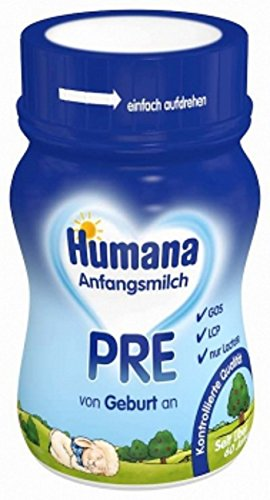 HUMANA Pre Anfangsmilch - von Geburt an-, 24x90ml TRINKFERTIG