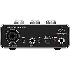 Behringer UM2 U-Phoria Soundkarte Test