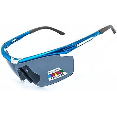 Gafas de Sol de ciclismo Polarizadas Deportivas Deporte equitación PC Bettertol con 5 lentes