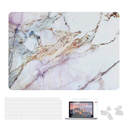 Utryit Hülle Für MacBook Air 13 (2018 Version) A1932 - Ultradünne Schutzhülle Hartschale Snap Case Laptop Matt Cover für Apple MacBook Air 13,3 Zoll mit Retina Display und Touch ID, DDC-018 Hd-kabel-bundle-kit