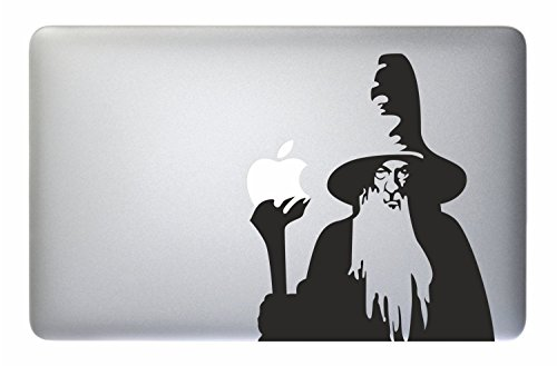 Just Go Online Aufkleber MacBook Mago - The Lord of The Rings Gandalf - Apple MacBook Laptop Decal Sticker Vinyl Mac Pro Air Retina 13