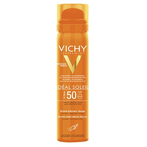 Vichy Ideal Soleil Erfrischendes Sonnenspray Gesicht LSF 50,