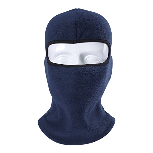 Your Choice Winter Balaclava Thermal Fleece Windproof Full Face Mask for Skiing, Cycling, Hiking, Snowboarding & Outdoor Sports(Blue)